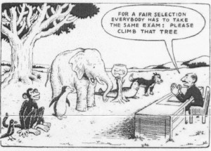 Natural selection cartoon cropped