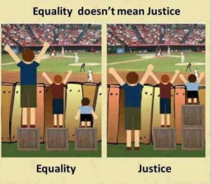 Equity justice equality